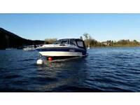 Rinker V190 Sports Cruiser Boat and trailer
