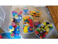 BUNDLE OF PLAY DOH ACCESSORIES