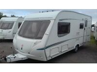 4 BERTH ABBEY 2005 WITH 'L' SHAPED LOUNGE AWNING LARGE BATHROOM EXCELLLENT ALL ACCESSORIES FOR HOLS.