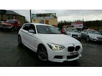 2013 63 BMW M135I AUTO WHITE 5 DOOR HATCHBACK