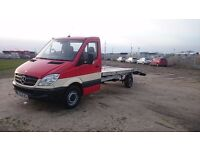 RECOVERY MERCEDES SPRINTER GREAT!!!