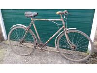 old, antique, vintage bicycle Hercules 1948