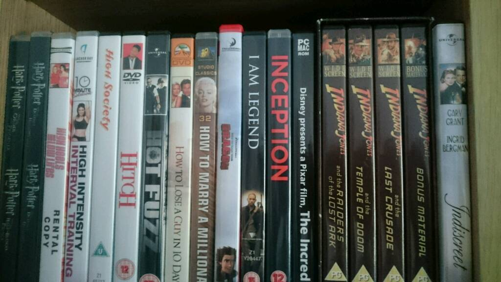 DVDS - Movies for Sale