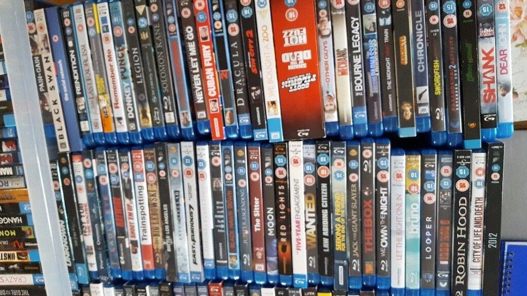 Blu ray bundle of 215