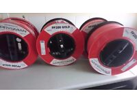 Fire Alarm Cable Prysmian FP200 Gold 4 Drums In Total 400 Meters 1.5mm 2 Core and earth