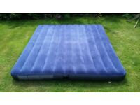 Inflatable Blow Up Kingsize Air Bed Intex