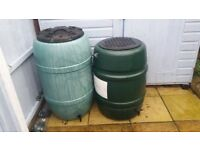WATER BUTTS FOR SALE.