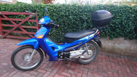 Honda Innova ANF 125cc 2003. Low mileage, 2 owners from new. New MOT