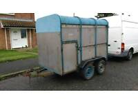 Ifor Williams live stock sheep trailer