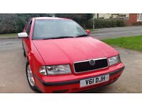 Skoda actuvia estate long mot full service history central lock cd aloy tidy cheap on fuel