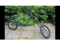 Kona hotrod chopper beach cruiser bike