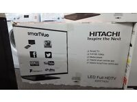 Hitachi tv 42 in smart led for sale in Coventry 12 month warranty free delivery in Coventry