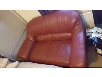Leather Two Seater