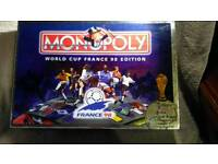 France 98 world cup Monopoly
