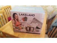 Lakeland Lets Bake Stand Mixer , Silver, Brand New in Box