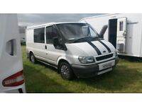 Ford Transit Camper Van / Motorhome Conversion 2002 Ex Police (Non runner)
