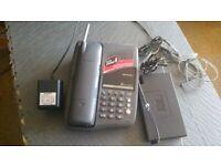 SHARP cordless and speaker PHONE