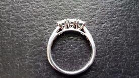 ***Diamond & Platinum Ring***