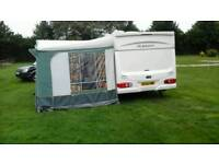 Caravan Awning 991 Cm With Alloy Poles Dorema