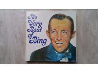 Bing Crosby 7 Vinyl LP's Box Set in Excellent Condition - Unused