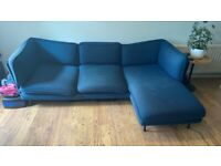 3 seater chaise corner sofa - Wes made elite teal