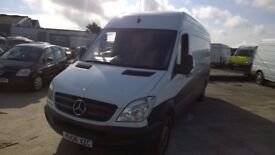 MERCEDES Sprinter 311 Cdi 35t LWB High-Top 2.1 Turbo Diesel, MOT June 2018, 2008-08 plate