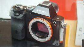 Sony A7R 36.4mp DSLR camera body only