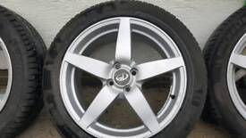 17 inch alloy with good tyres