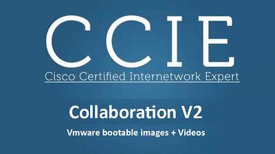 Cisco Collaboration v2 Voice Lab CCIE VMware images CUCM CUPS CUC v12 +  VIDEOS