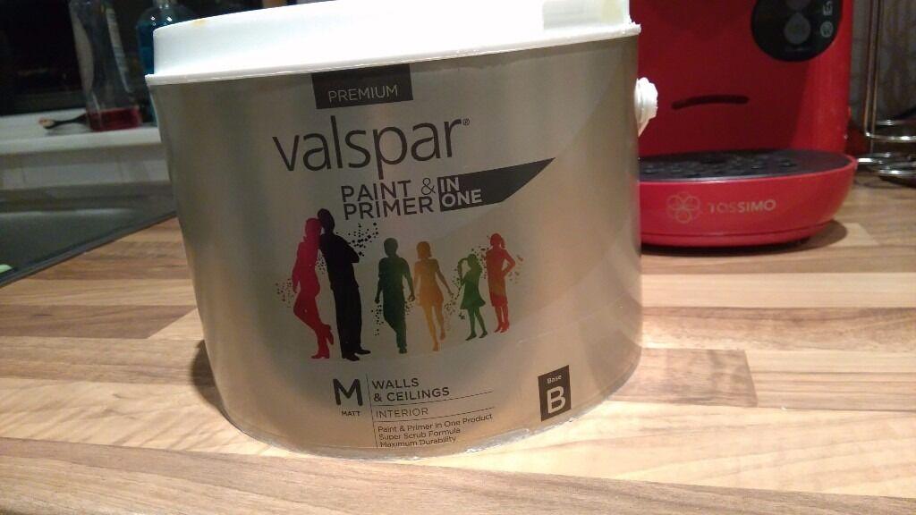 Valspar premium matt paint in botanical beauty