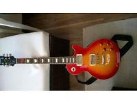 Epiphone Les Paul Standard, Gibson Pickups and Epiphone Hardcase