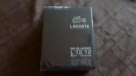 Lacoste eau de Lacoste L.12.12 Noir EDT 100ml Brand new and boxed