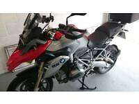 BMW R1200GS TE with vario luggage