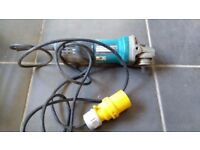 One of several 110v tools for sale. Makita Grinder. 9553nb. 710w. £25 Not used much