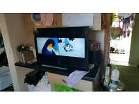 32 inch alba tv with built in DVD player