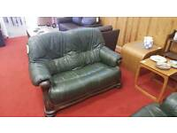 Leather Sofas 2 x 2 Seat tcl 11893