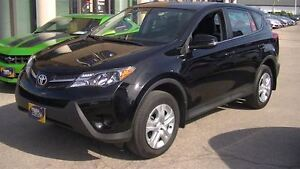 2015 Toyota RAV4 LE AWD WITH BLUETOOTH