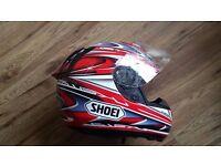 Shoei X-Spirit Ukawa motorcycle helmet