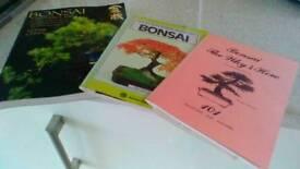 3 Bonsai books paperbacks