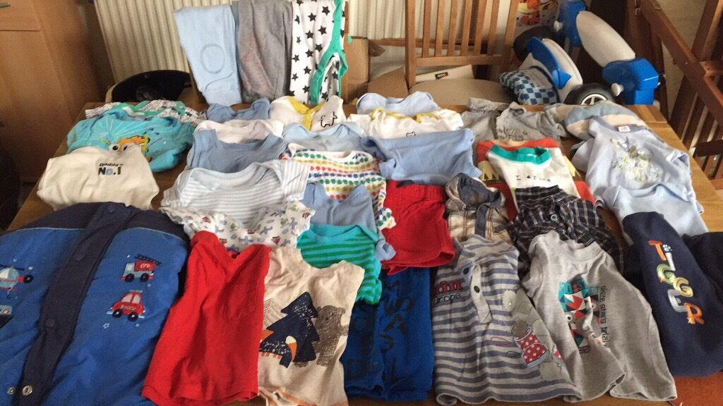Baby boys clothes 6 910 the lotin CaerphillyGumtree - Mixture of coats vest tshirts all in one fleece baby gro all in good condition
