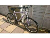 Teenagers to adults mountain bike 20 inch frame 26 inch all in good working order
