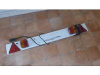 trailer lights / reg plate board