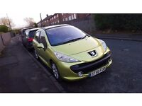 Peugeot 207 1.6 hdi great runner taxed moted 5 doors servis history swap px