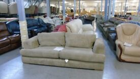 PRE OWNED 3 Seater in Beige Jumbo Cord Fabric