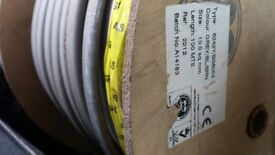 Approx 90 Mtr Domestic High voltage 10.0mm Twin & Earth Cable Grey 6242Y