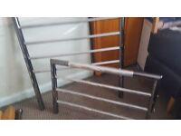 Single bed frame metal