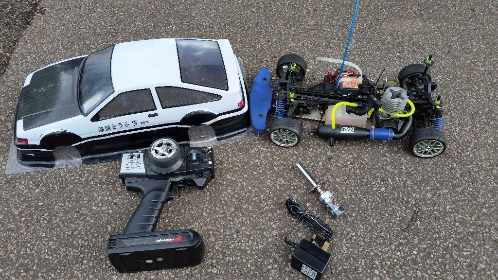 Nitro Rc Car Thunder Tiger Drift In Ruislip London Gumtree