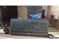 Zoostorm gaming PC windows 8.1, 1 TB Storage, 8 GB RAM, I5 4440, with Razer Deathstalker keyboard