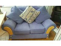 Small sofa with scatter cushions
