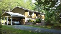 Bungalow in your own 2 1/2 acre private forest Coldbrook